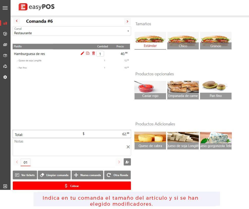EasyPOS Punto de venta para restaurantes