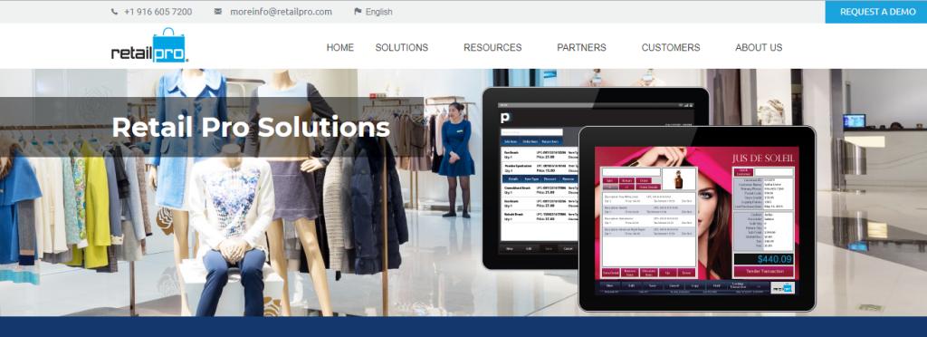 1b059db56 Retail Pro es una plataforma de software de administración minorista con  poderosas capacidades para POS, inventario, empleados y administración de  clientes.