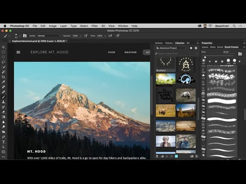 Download and install Photoshop CC