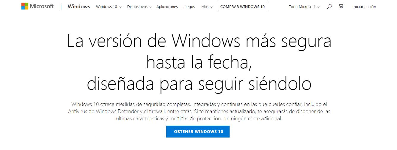 windows defender para windows 10 descargar
