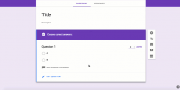Google Forms Gestión de Aula